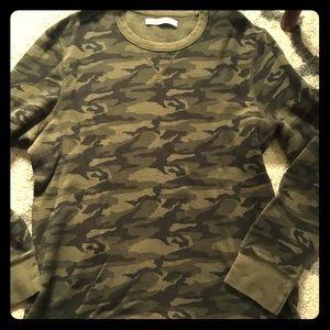 Men's Long sleeve Camo  shirt